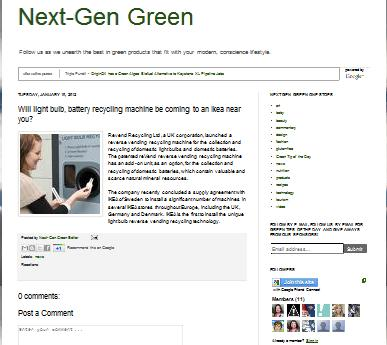 next gen green